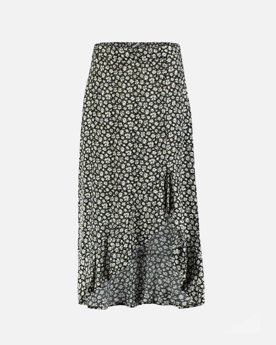 "Picture of Maxi Floral Skirt ""Sophie"" in Black"