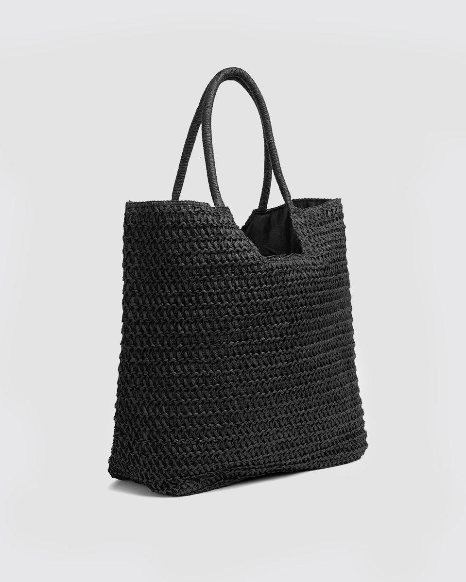 """Picture of Braided Tote Bag """"Ella"""""""
