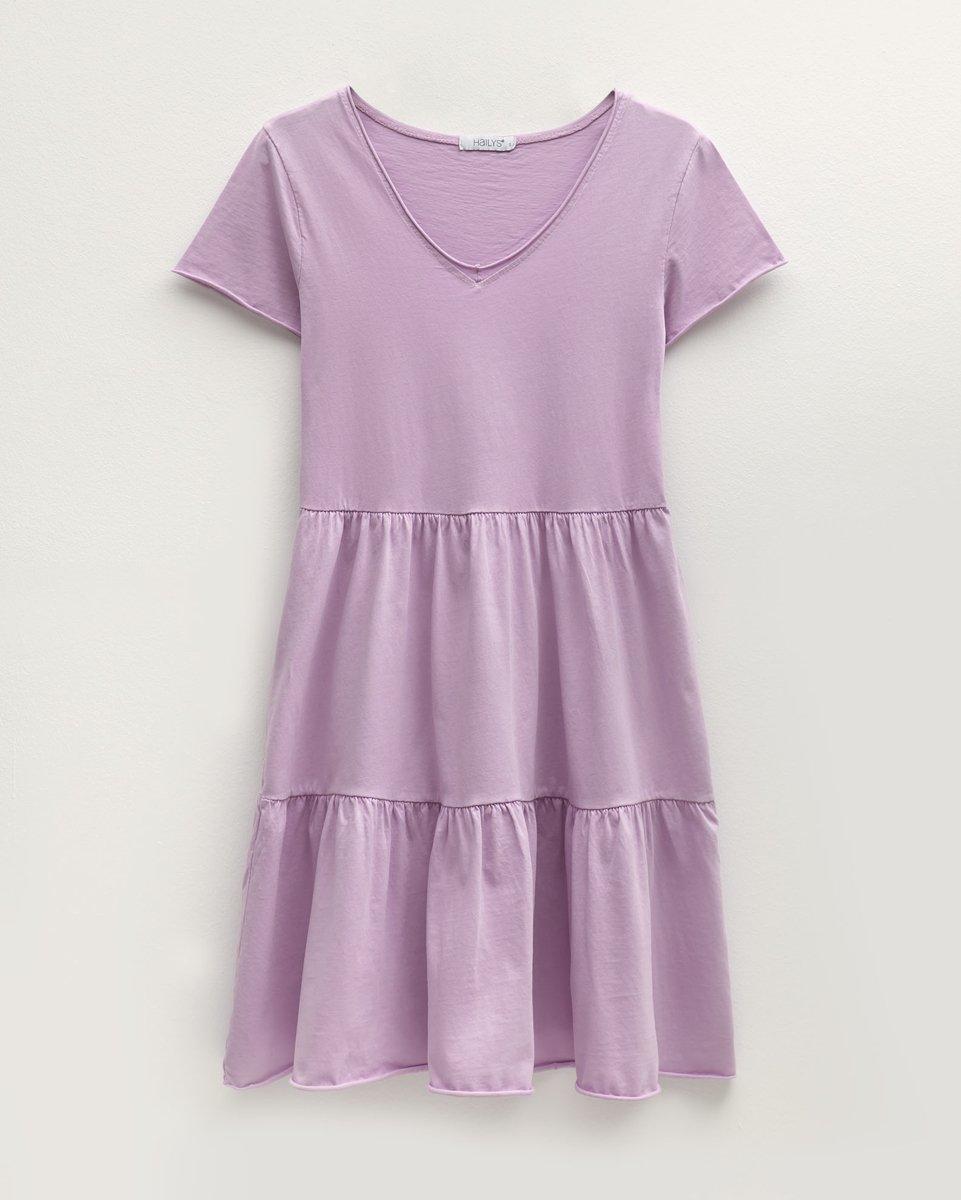 """Μίνι Φόρεμα """"Poppy"""" Λιλά"""