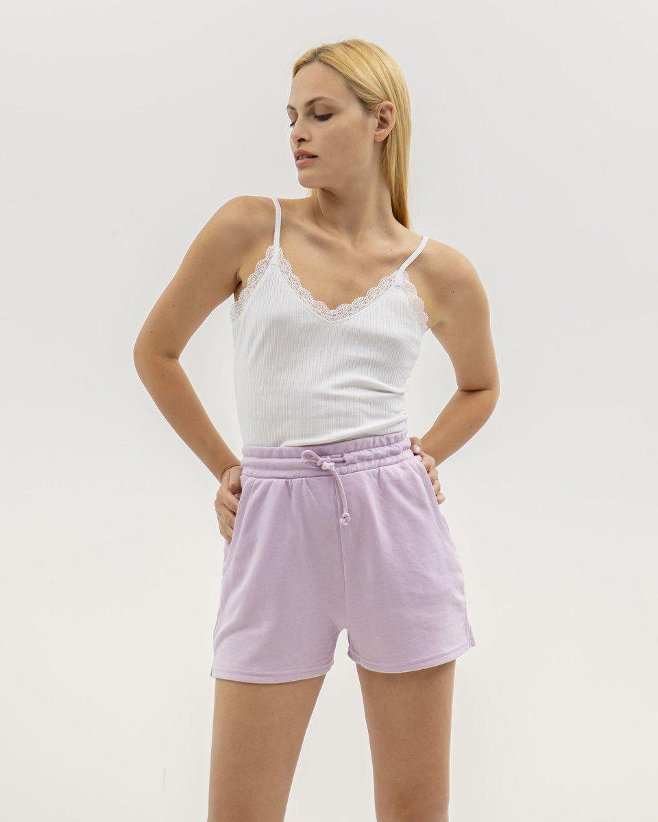 "Picture of Women's Bermuda Shorts ""Juli"" in Lilac"