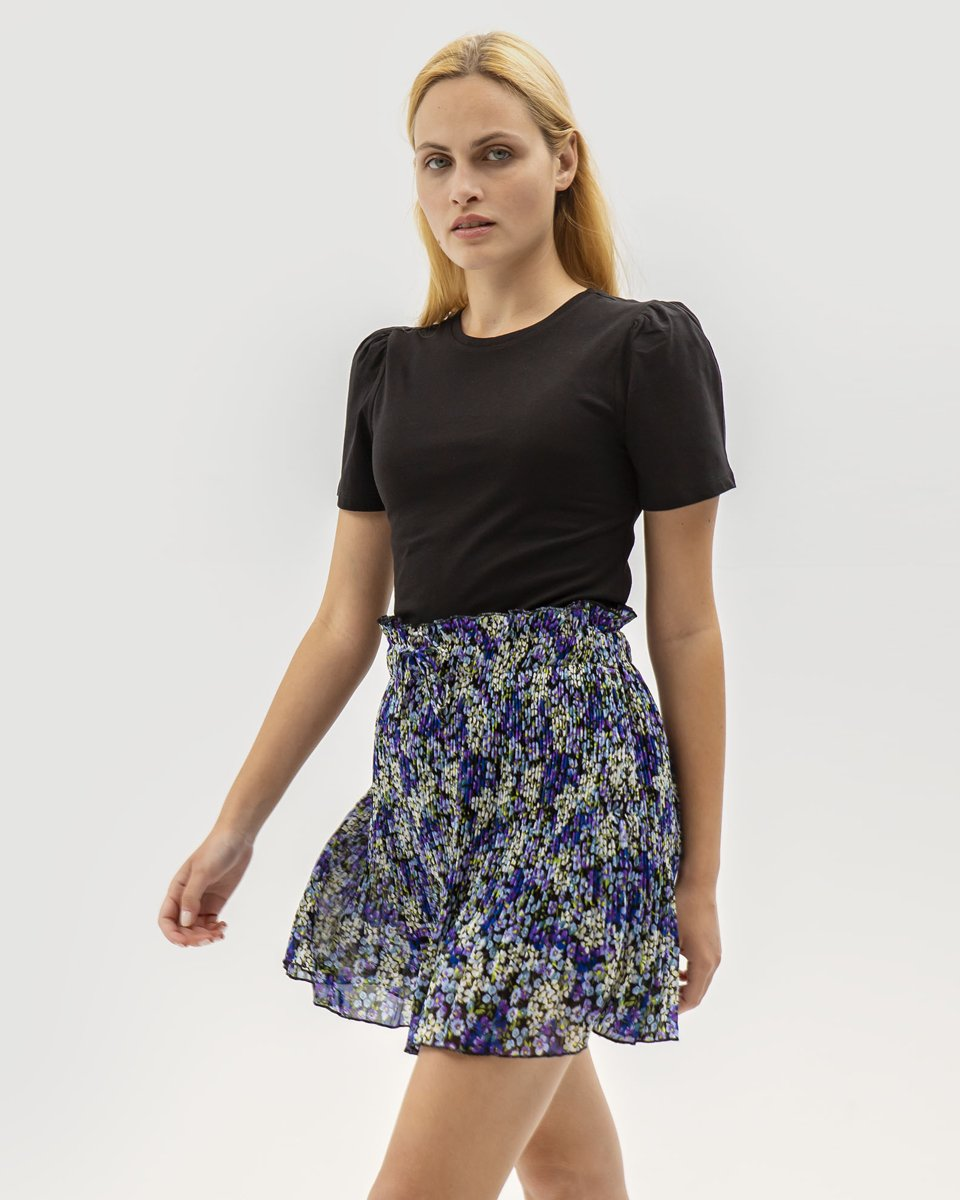 "Picture of Mini Printed Skirt ""Milla"" in Levander"
