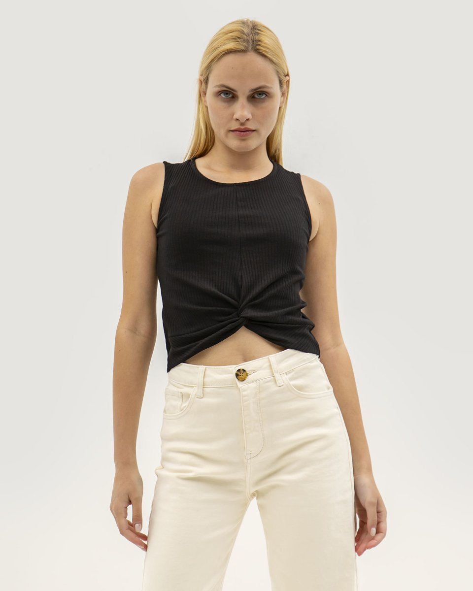 "Picture of Women's Sleeveless Top ""Shari"" in Black"