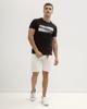 Ανδρικό Κοντομάνικο T-Shirt Μαύρο