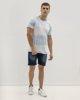 Ανδρικό Κοντομάνικο T-Shirt Ανοιχτό Μπλε
