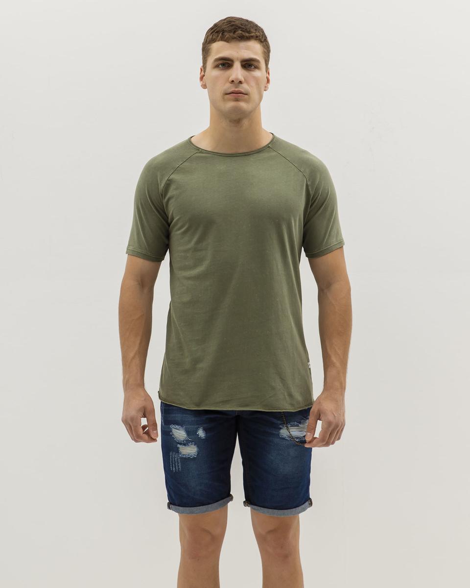 """Ανδρικό Κοντομάνικο T-Shirt """"Harper"""" Χακί"""