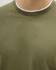 """Ανδρικό Κοντομάνικο T-Shirt """"Demis"""" Χακί"""