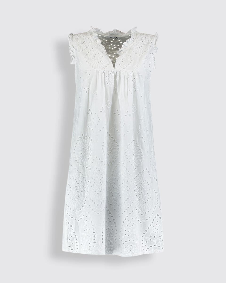 """Picture of Mini Dress """"Danna"""" in White"""