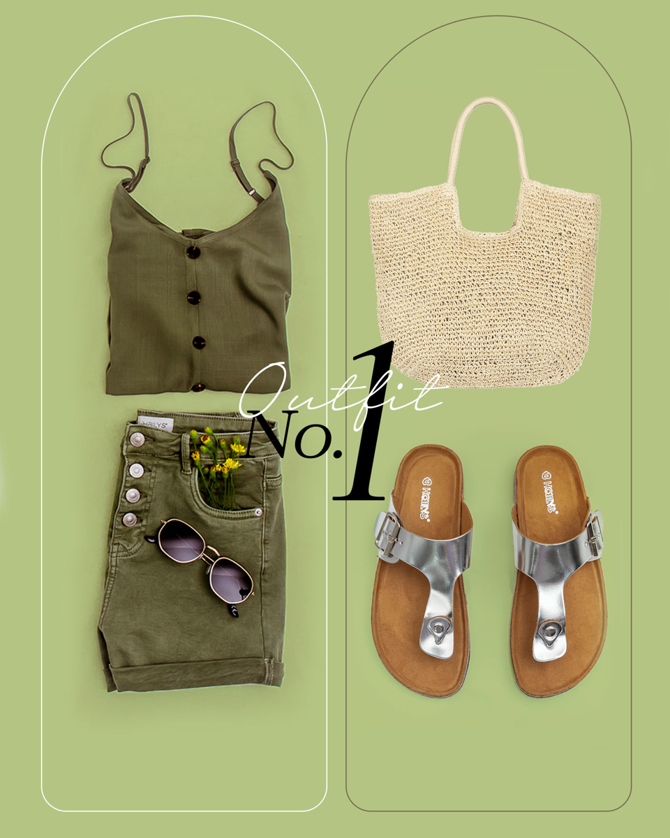 Summer Color Outfit 1
