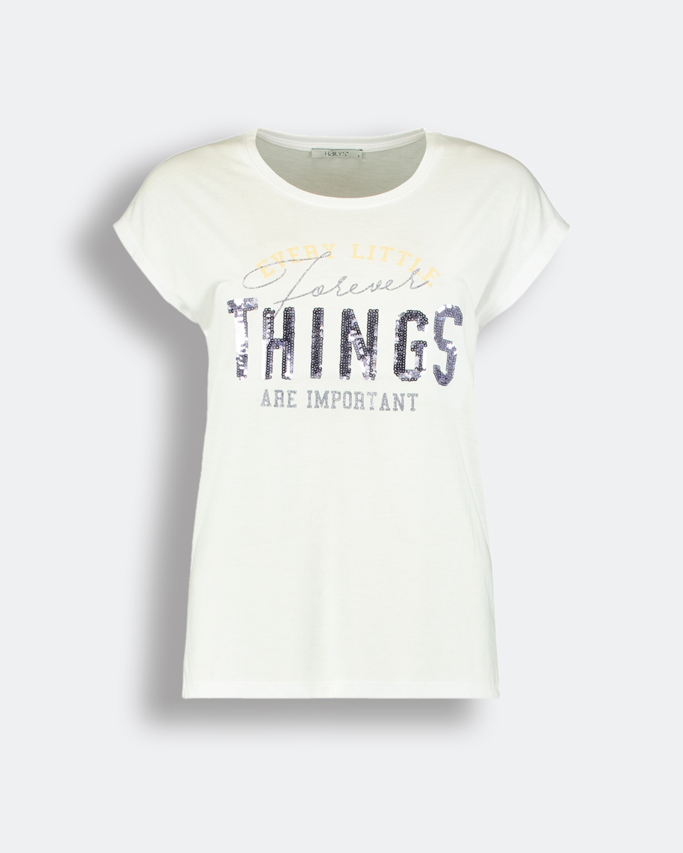 """Picture of Women's Short Sleeve T-Shirt """"Dory"""" in White"""