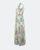 """Μάξι Αμάνικο Φόρεμα """"Bianca"""" Off-white"""
