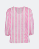 """Picture of Women's Blouse 3/4 Sleeve """"Remi"""" in Pink"""