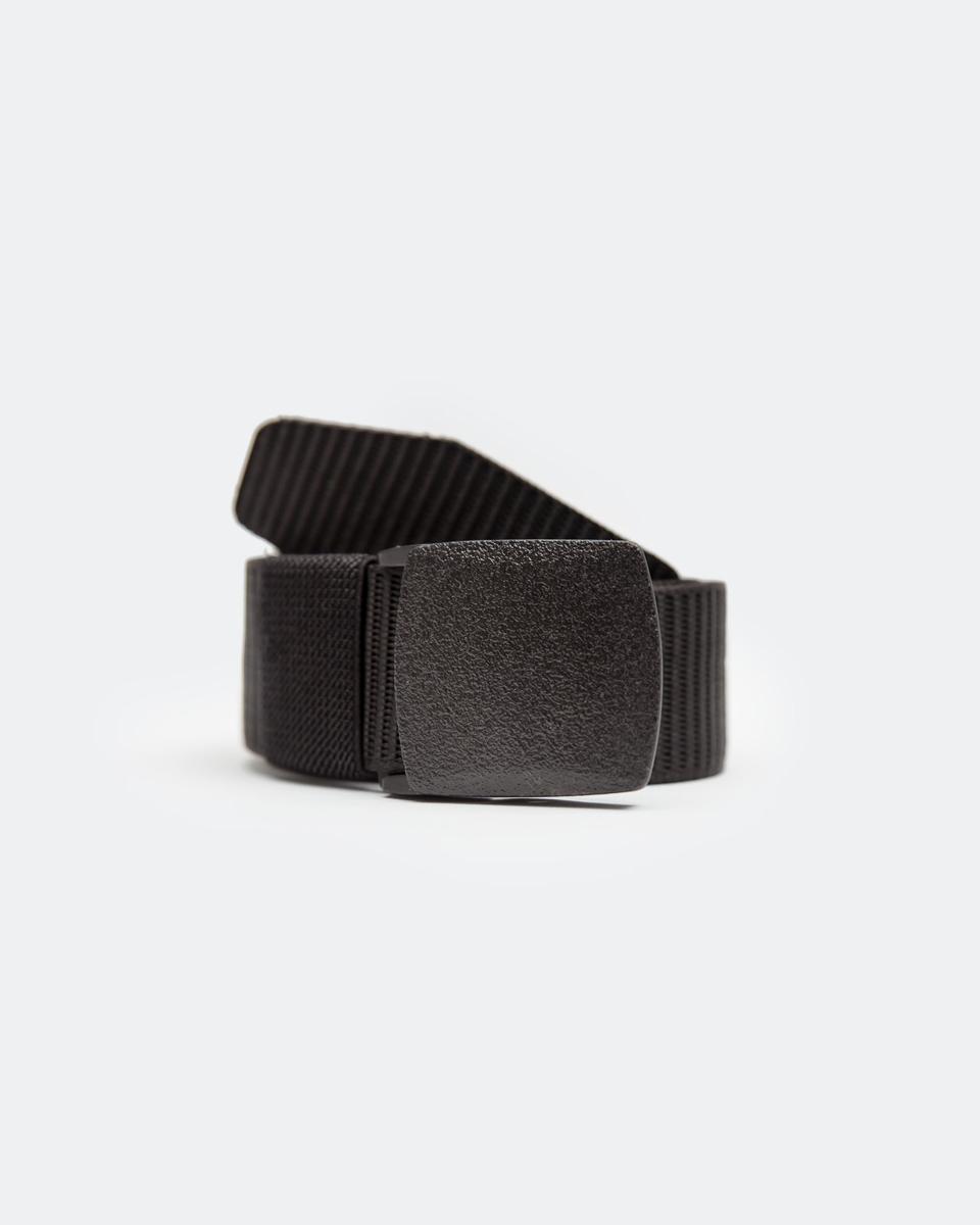"Picture of Men's Canvas Belt ""F-J99"" in Black"