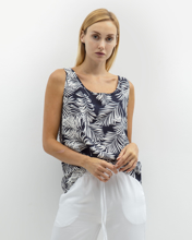 """Picture of Women's Sleeveless Top """"Robina"""" Palm"""
