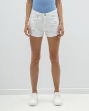 "Picture of Women's Denim Bermuda Shorts ""Dina"" in White"