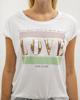 """Γυναικείο Κοντομάνικο T-Shirt """"Inga"""" Λευκό"""