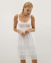 """Αμάνικο Φόρεμα """"Tia"""" Λευκό"""