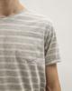Ανδρικό Κοντομάνικο T-Shirt Γκρι Μελανζέ