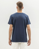 Picture of Men's Short Sleeve T-Shirt in Blue Dark