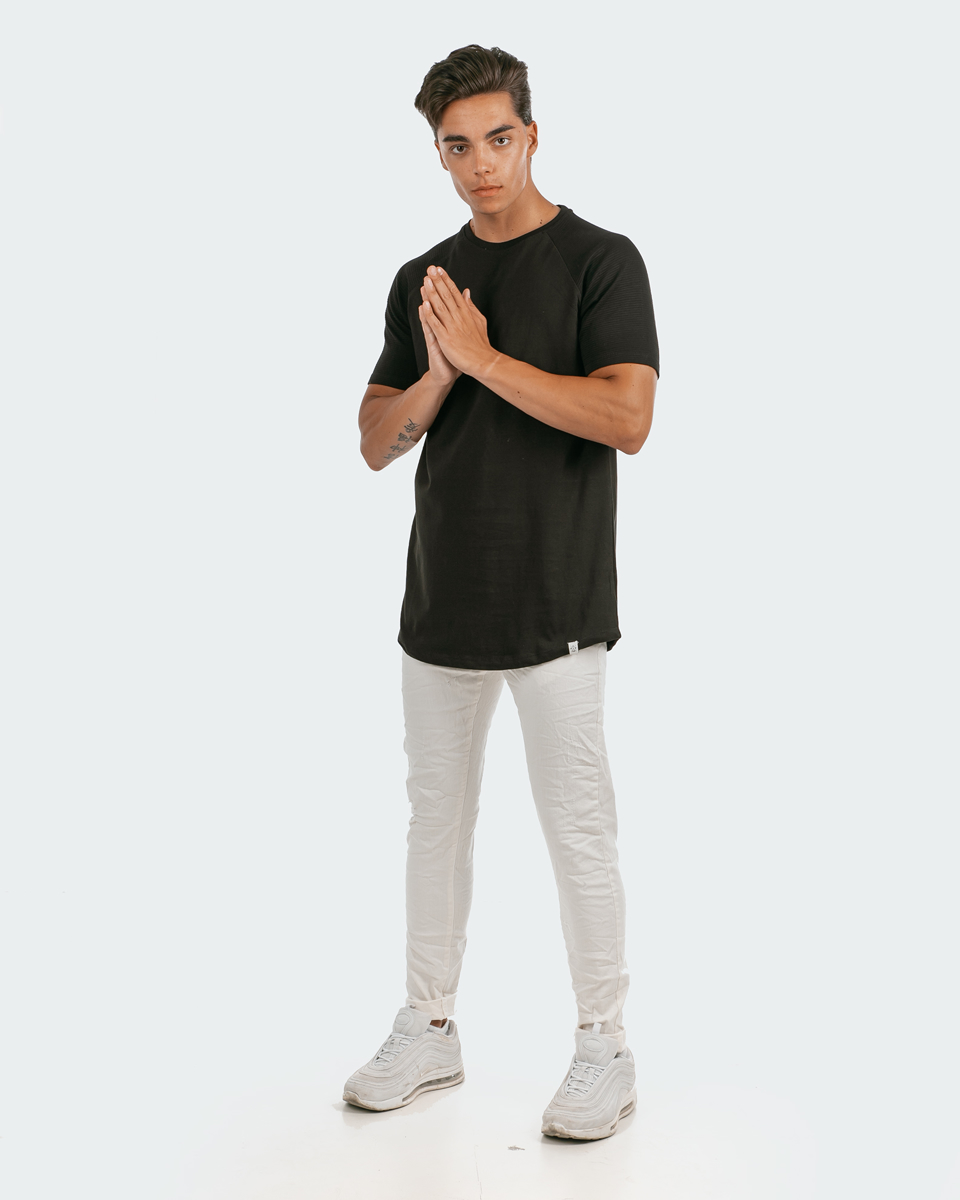 """Picture of Men's Short Sleeve T-Shirt """"Dylan"""" in Black"""