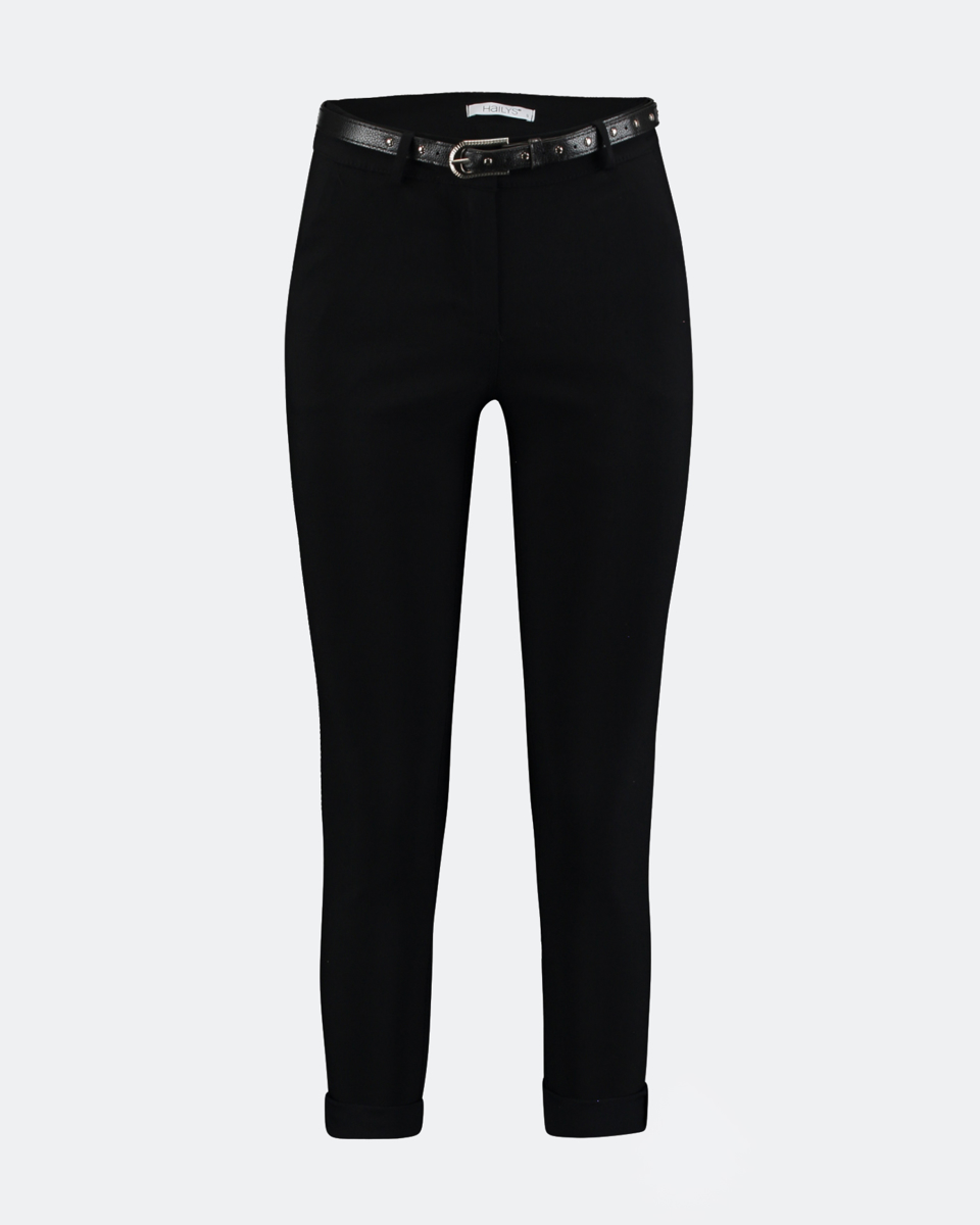 """Picture of Mid-waist Trousers """"Mandy"""" in Black"""