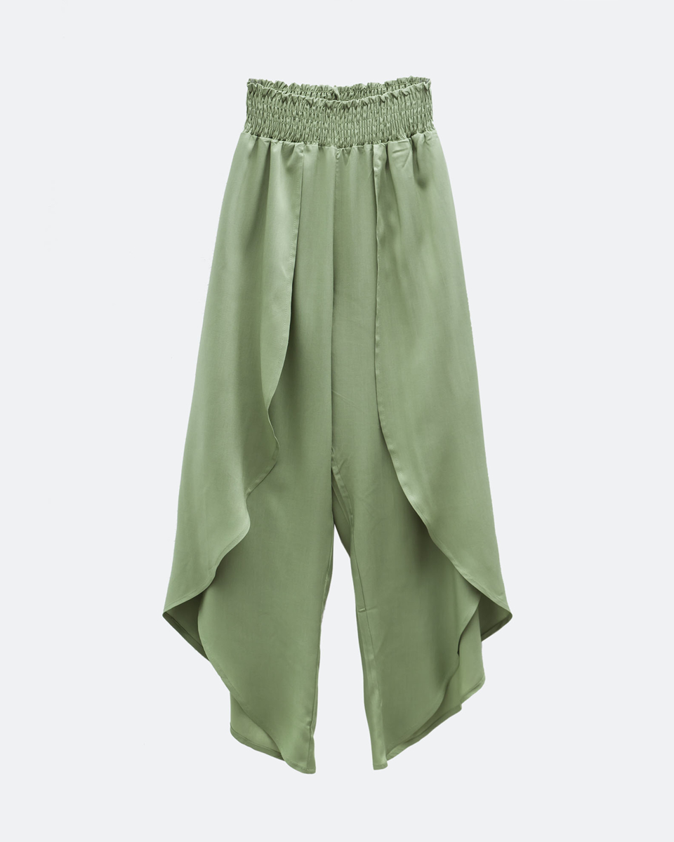 """Picture of Women's Trousers 3/4 """"Aylin"""" in Green"""