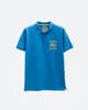 Ανδρική Μπλούζα Πόλο Κοντομάνικη Μπλε