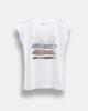 """Γυναικείο Κοντομάνικο T-Shirt """"Sasha"""" Λευκό"""
