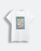 """Picture of Women's Short Sleeve T-Shirt """"Ruby"""" in White"""