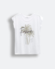 """Γυναικείο Κοντομάνικο T-Shirt """"Renata"""" Λευκό"""