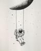 """ΜΠΛΟΥΖΑ ΜΕ ΤΥΠΩΜΑ """"Moon Swing"""""""