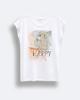 """Γυναικείο Κοντομάνικο T-Shirt """"Virginia"""" Λευκό"""