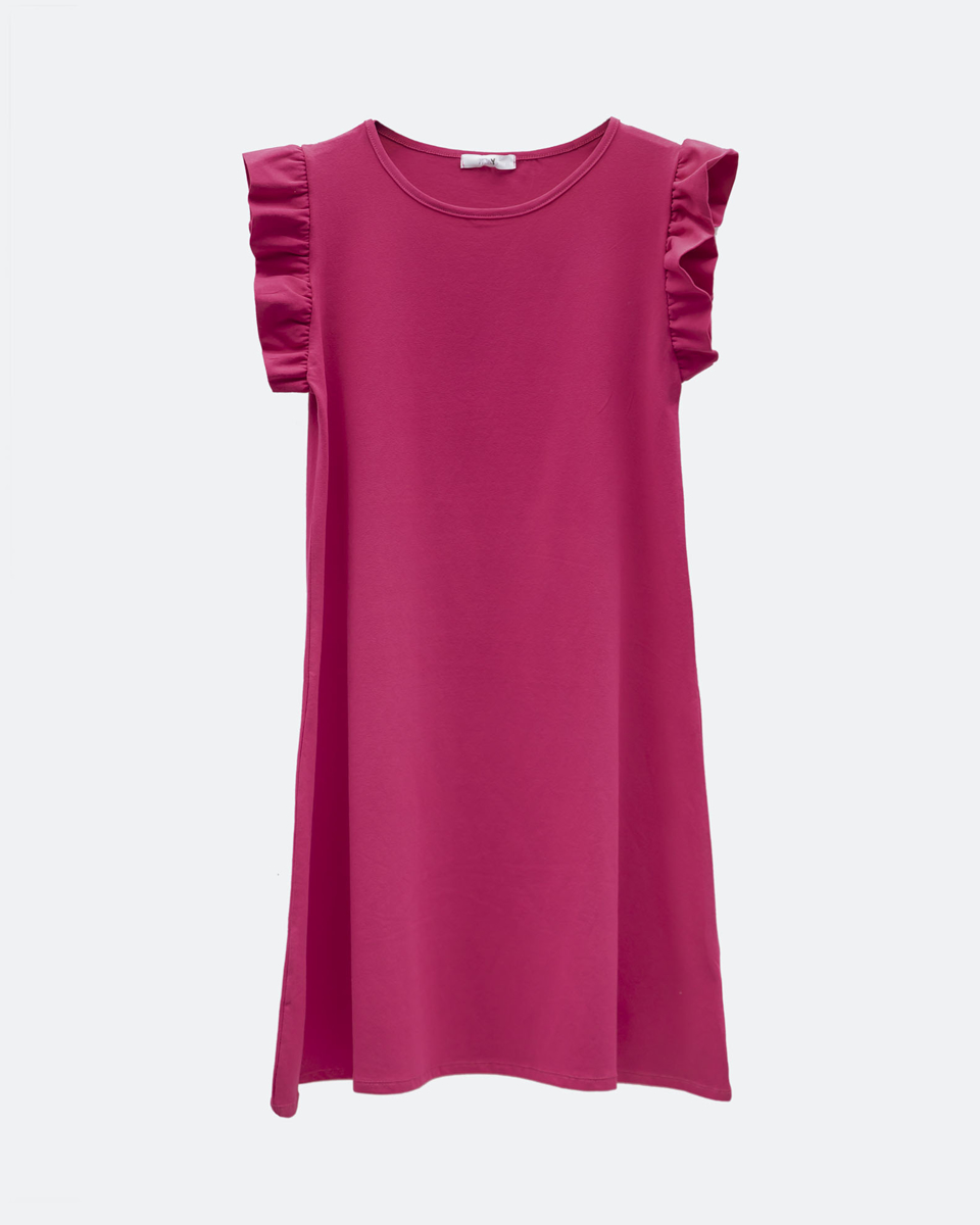 """Picture of Mini Dress """"Polly"""" in Pink"""