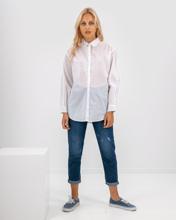 """Γυναικείο Πουκάμισο """"Alma"""" σε Λευκό Χρώμα - Style"""
