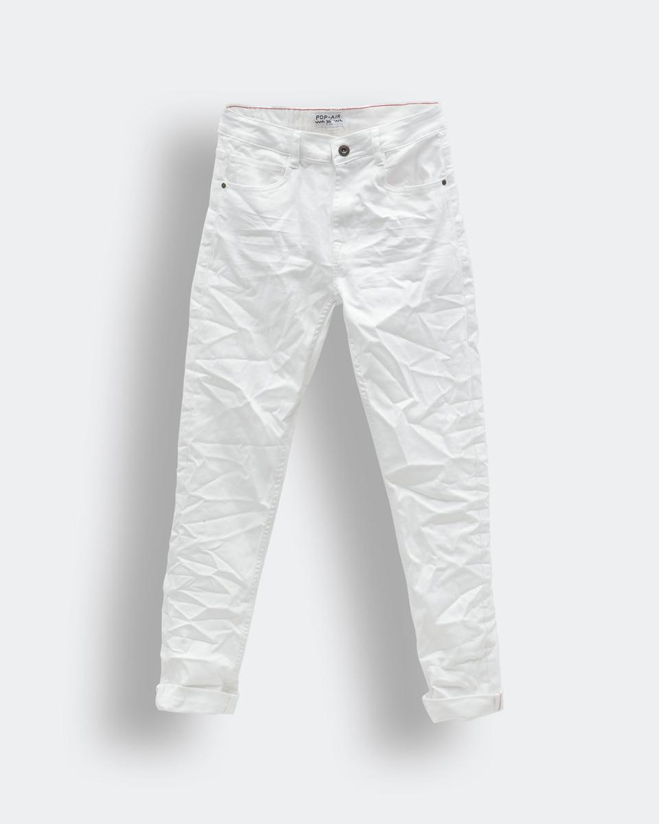 "Picture of Men's Basic Denim Pants ""Sakis"" in White - Style"