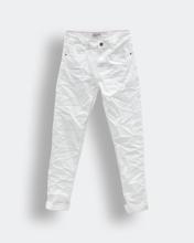 """Ανδρικό Παντελόνι Denim """"Sakis"""" Λευκό - Style"""