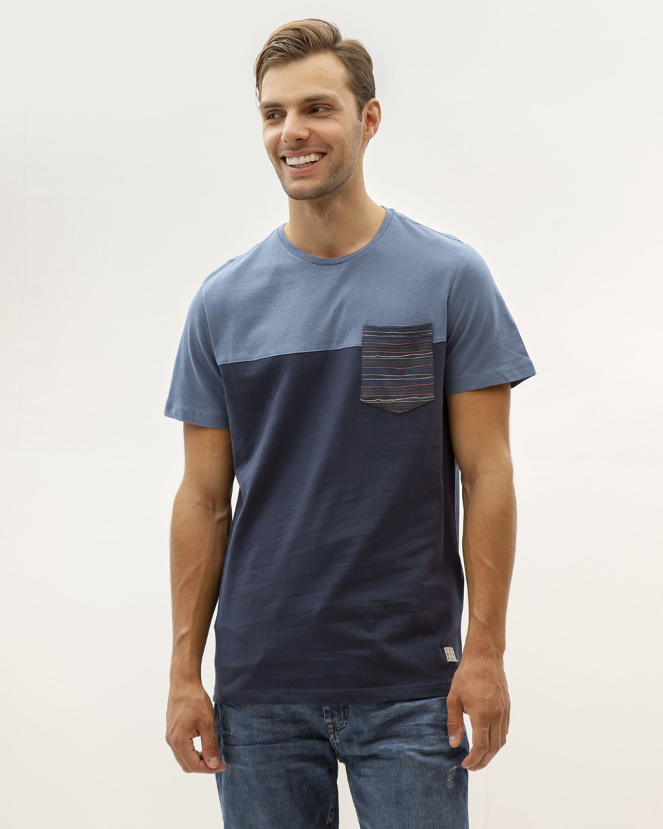 Picture of T-SHIRT WITH WAVE POCKET