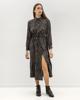 "Picture of Maxi Dress ""Lea"" Grey Animal Print"