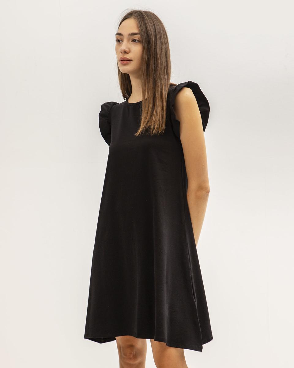 """Μίνι Φόρεμα """"Polly"""" Μαύρο"""