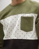 Picture of 3-COLORED SWEATSHIRT WITH PATCH POCKET