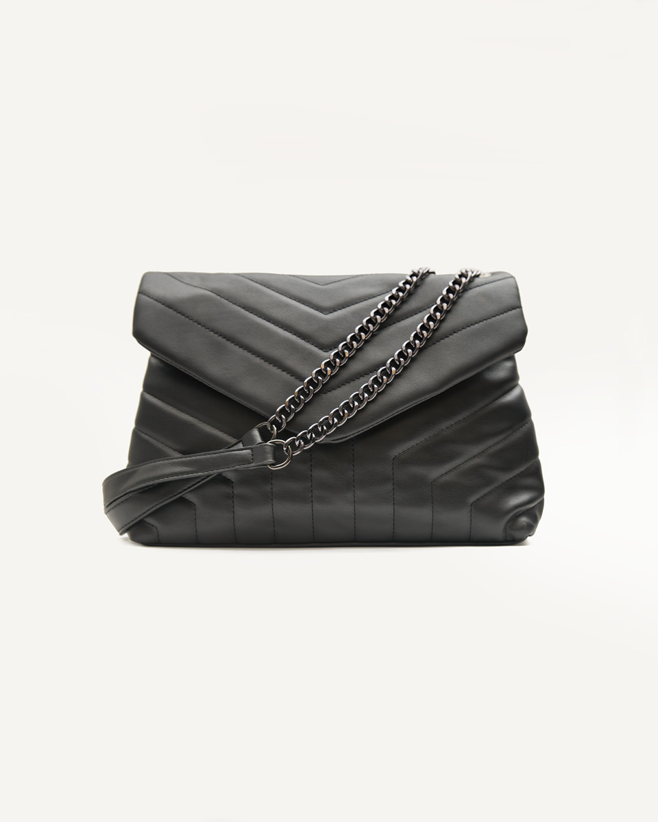 Picture of QUILTED SHOULDER BAG WITH CHAIN